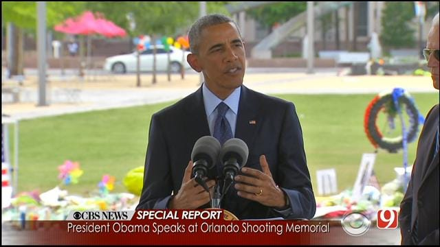 President Obama, Joe Biden Visit Orlando