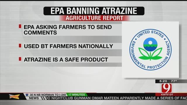 AG REPORT: EPA Banning Atrazine