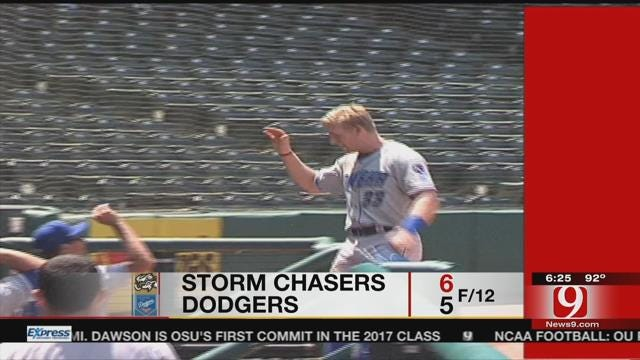 Dodgers Fall to Storm Chasers