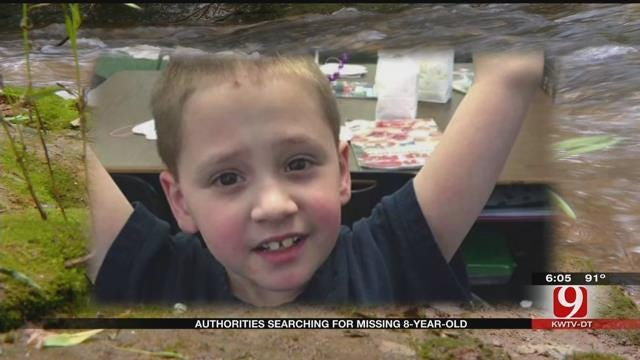 Authorities In Duncan Continue To Search For 8-Year-Old Boy