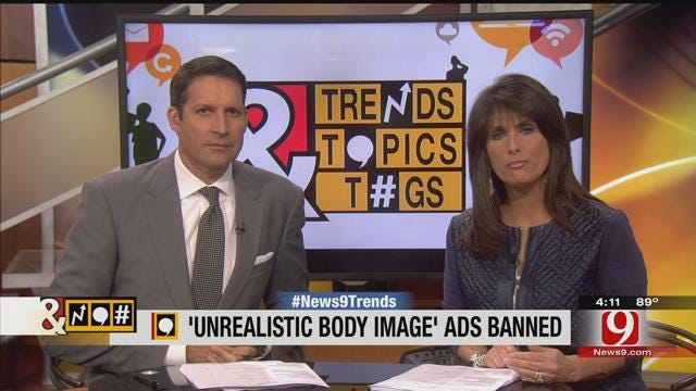 Trends, Topics, & Tags: 'Unrealistic Body Image' Ads Banned