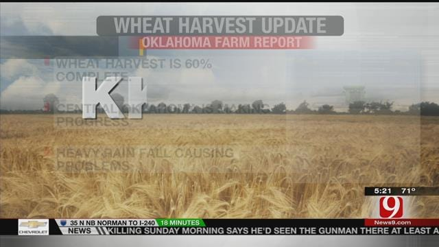 Oklahoma Is More Than Halfway Done With The Wheat Harvest