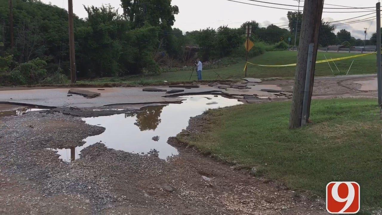 WEB EXTRA: Chris Gilmore Updates On Maysville Flooding