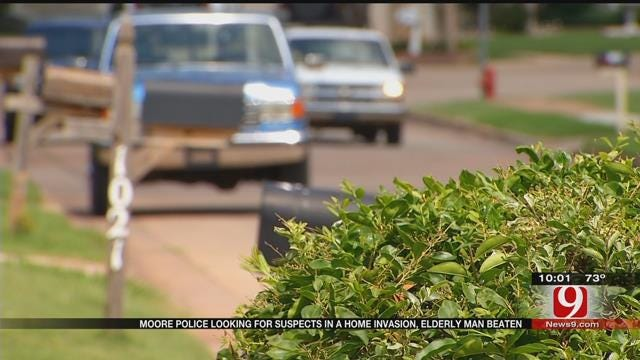 Moore Man Beaten During Home Invasion