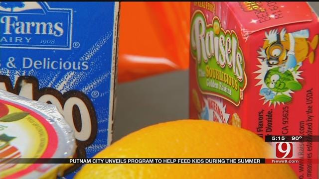 Putnam City Kids Get Summer Lunches