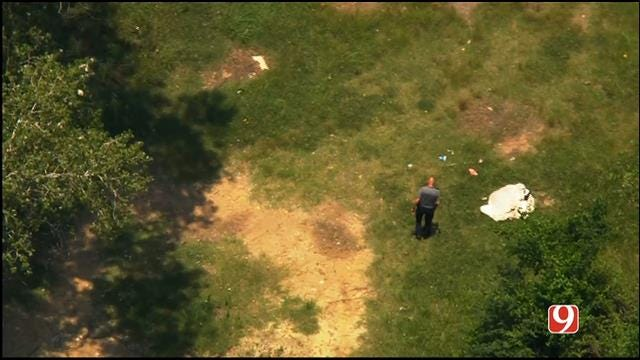 WEB EXTRA: SkyNews 9 Flies Over Scene Where Body Was Found In Spencer