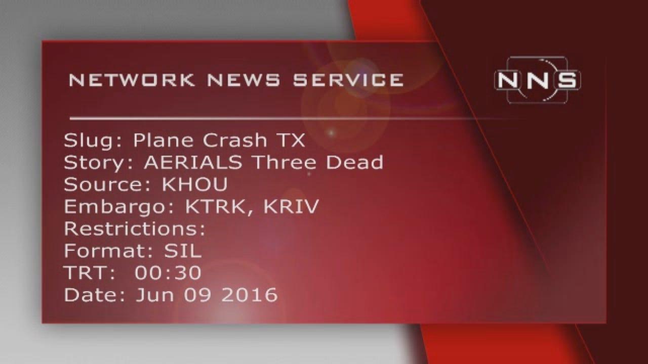 Houston Plane Crash.wmv