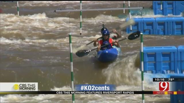 My 2 Cents: CBS This Morning Features Riversport Rapids