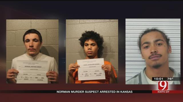Kansas Authorities Arrest Man Accused Of Norman Homicide