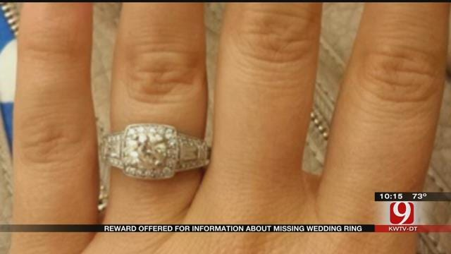Reward Offered For Information About Missing Wedding Ring