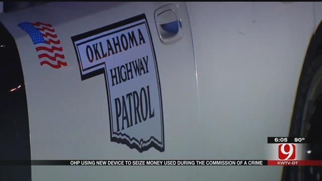 OHP Uses New Device To Seize Money Used During The Commission Of A Crime