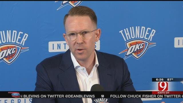 Thunder GM Sam Presti Closes the Season With His Exit Interview