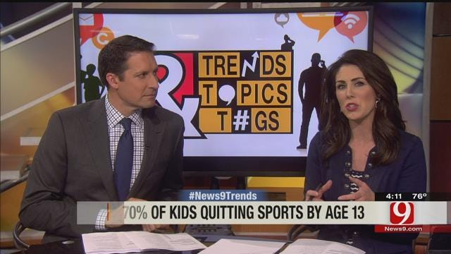 Trends, Topics & Tags: Kids Quitting Sports By Age 13