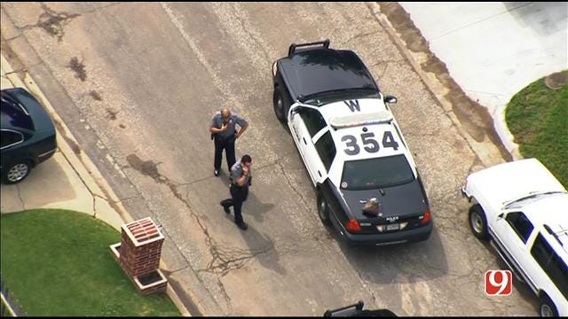 WEB EXTRA: Bob Mills SkyNews 9 Flies Over Short Pursuit, Chase In SW OKC