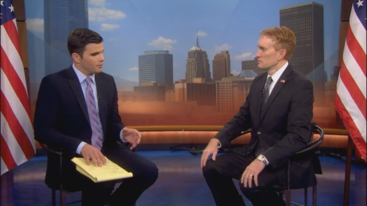 Sit Down With Justin Dougherty: Sen. James Lankford