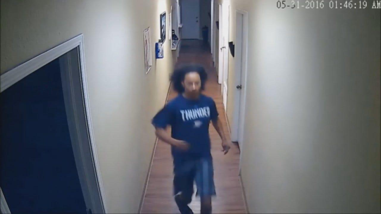 WEB EXTRA: Police Release Video Of OKC Business Burglary Suspect