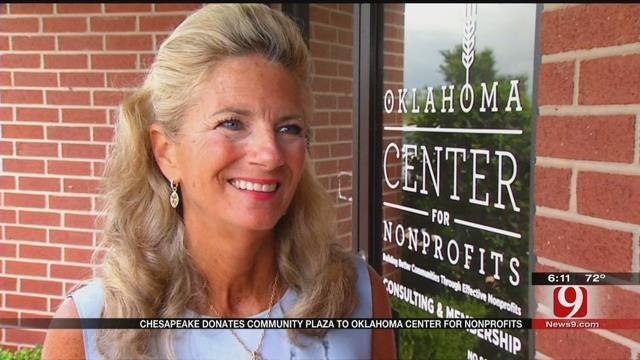 Chesapeake Donates Community Plaza To Oklahoma Center For Nonprofits