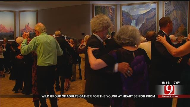Wild Group Of Adults Gather For 'Young At Heart' Senior Prom