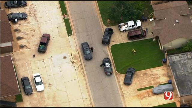 WEB EXTRA: SkyNews 9 Flies Over Search For Chase Suspect In NW OKC