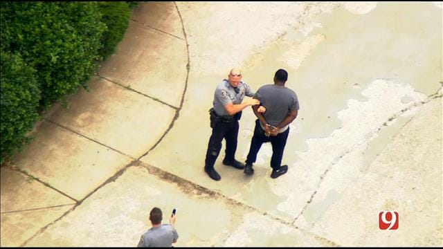 WEB EXTRA: Chase Suspect Taken Into Custody
