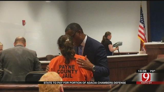 Judge Rules State To Pay For Defense Of Adacia Chambers