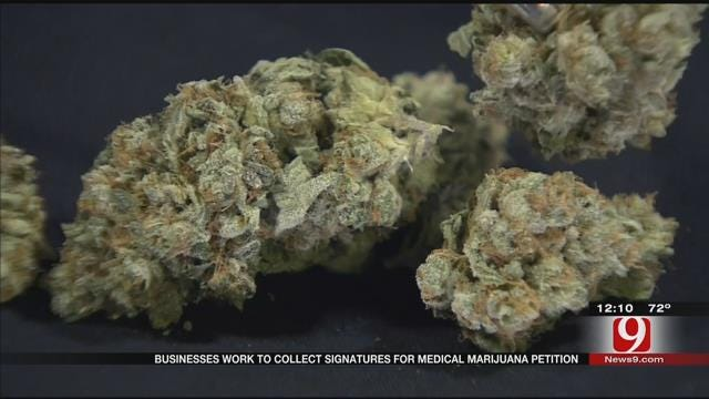 Businesses Work To Collect Signatures For Medical Marijuana Petition