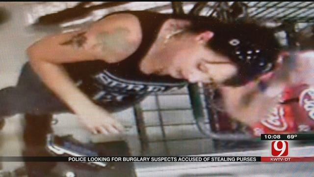 Police Release Surveillance Photos Of Accused Credit Card Thieves