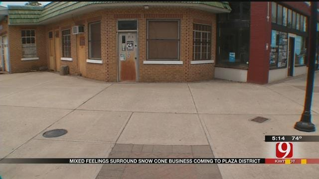 Mixed Feelings Surround Snow Cone Stand Coming To The Plaza District