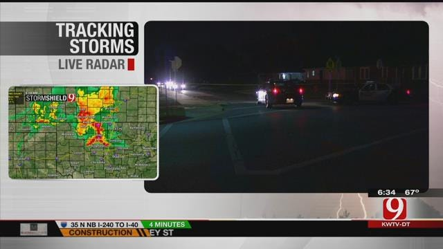 OKC Police Investigate After Home Invasion Suspect Shot By Homeowner