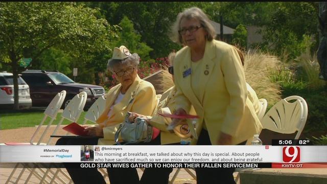 Gold Star Wives Honor Their Fallen Servicemen