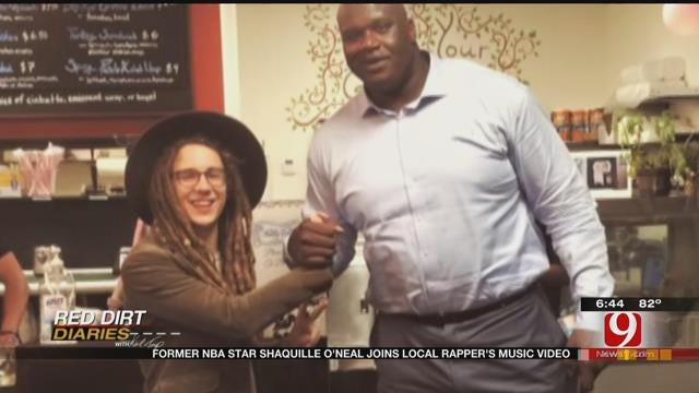 Red Dirt Diaries: Former NBA Star Joins Local Rapper's Music Video