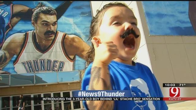 OKC Thunder's Biggest Little Fan: Meet Lil' Steven Adams