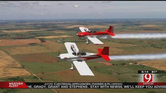 Pilots Prepare For Discover Aviation And Airshow Spectacular
