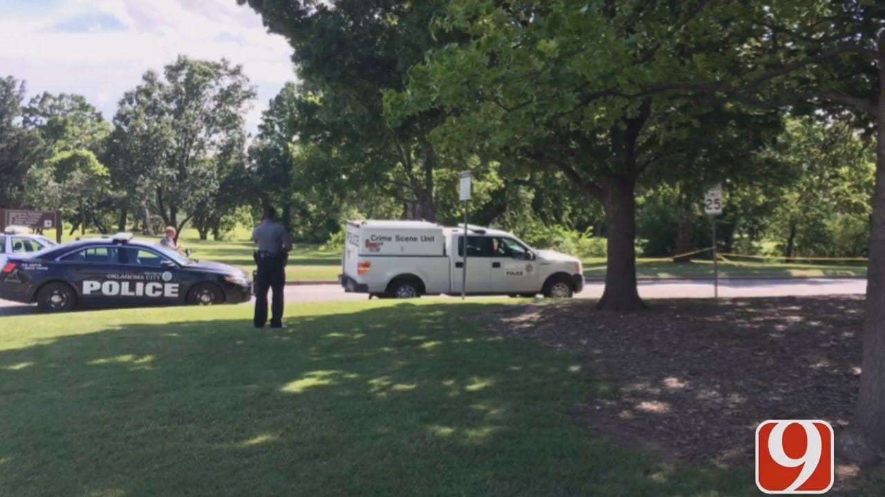 WEB EXTRA: News 9's Christy Lewis On Scene Body Found In NW OKC