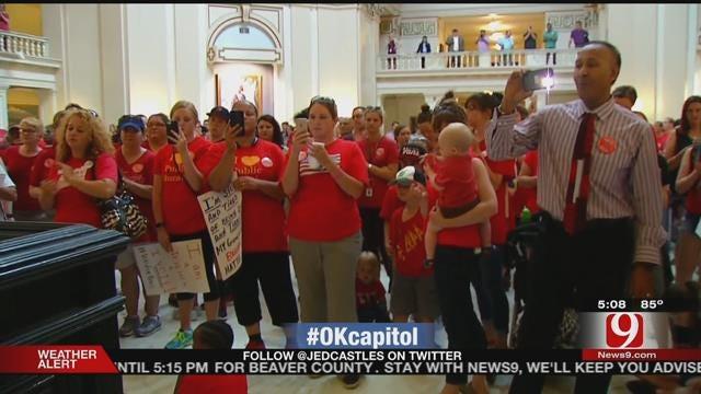 Capitol Protesters: Scrap Budget Deal, Fund Public Schools