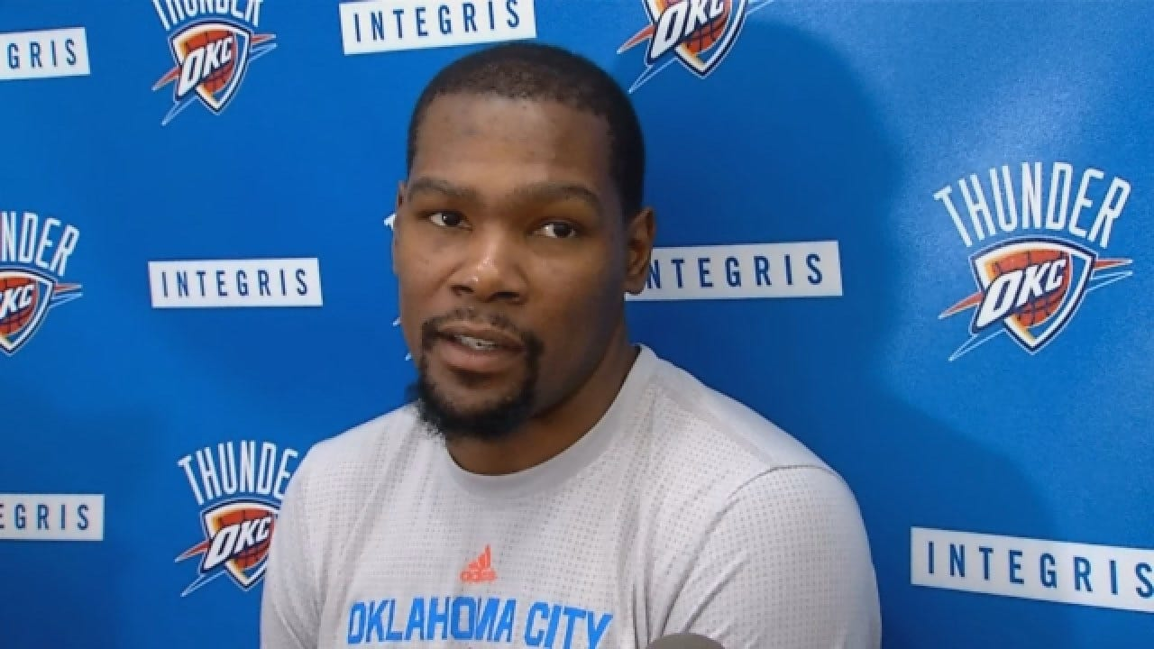 Kevin Durant Says Warriors Will Be Desperate In Game 5