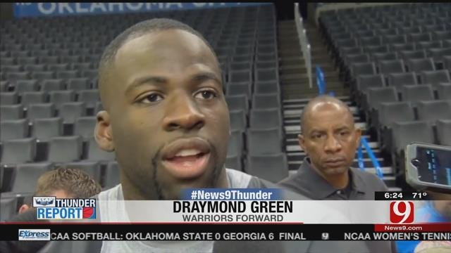Draymond Green Won't Be Suspended For Game 4