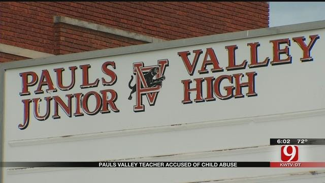 Pauls Valley Teacher Pleads Not Guilty To Child Abuse Charges