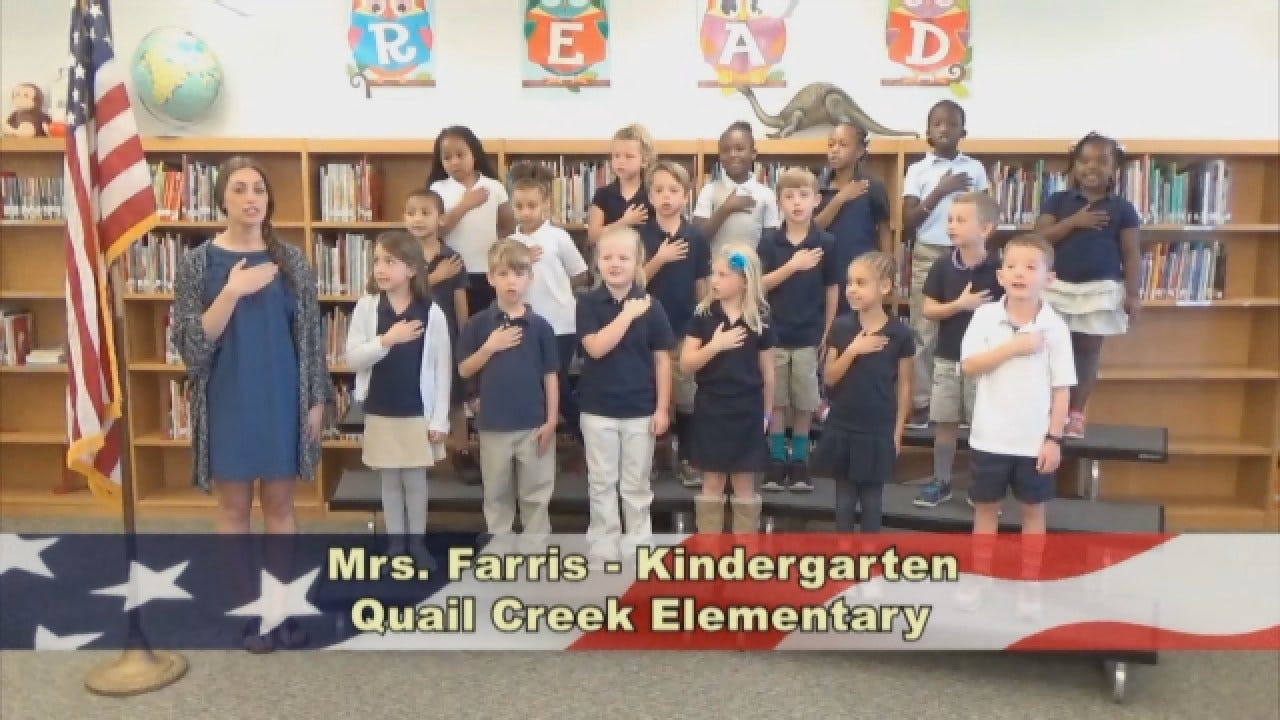 Mrs. Farris'KindergartenClass At Quail Creek Elementary