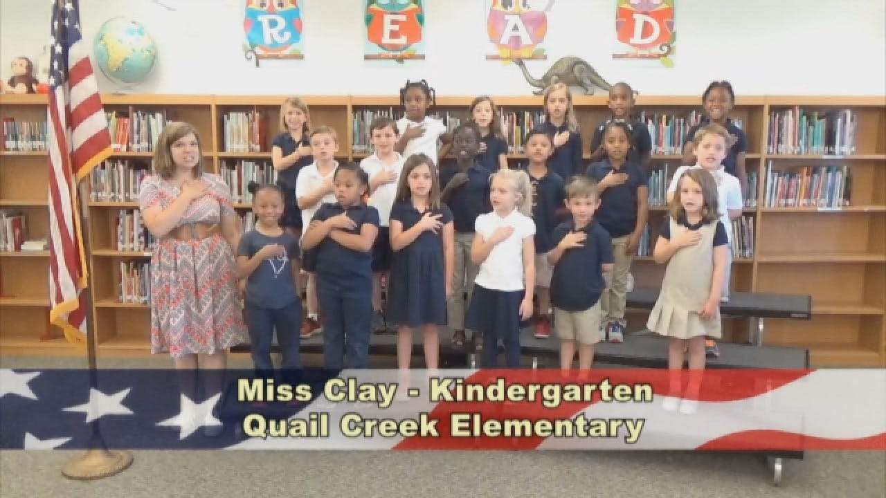 Miss Clay's Kindergarten Class At Quail Creek Elementary