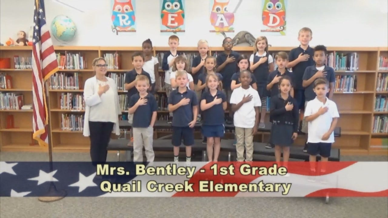 Mrs. Bentley's 1st Grade Class At Quail Creek Elementary
