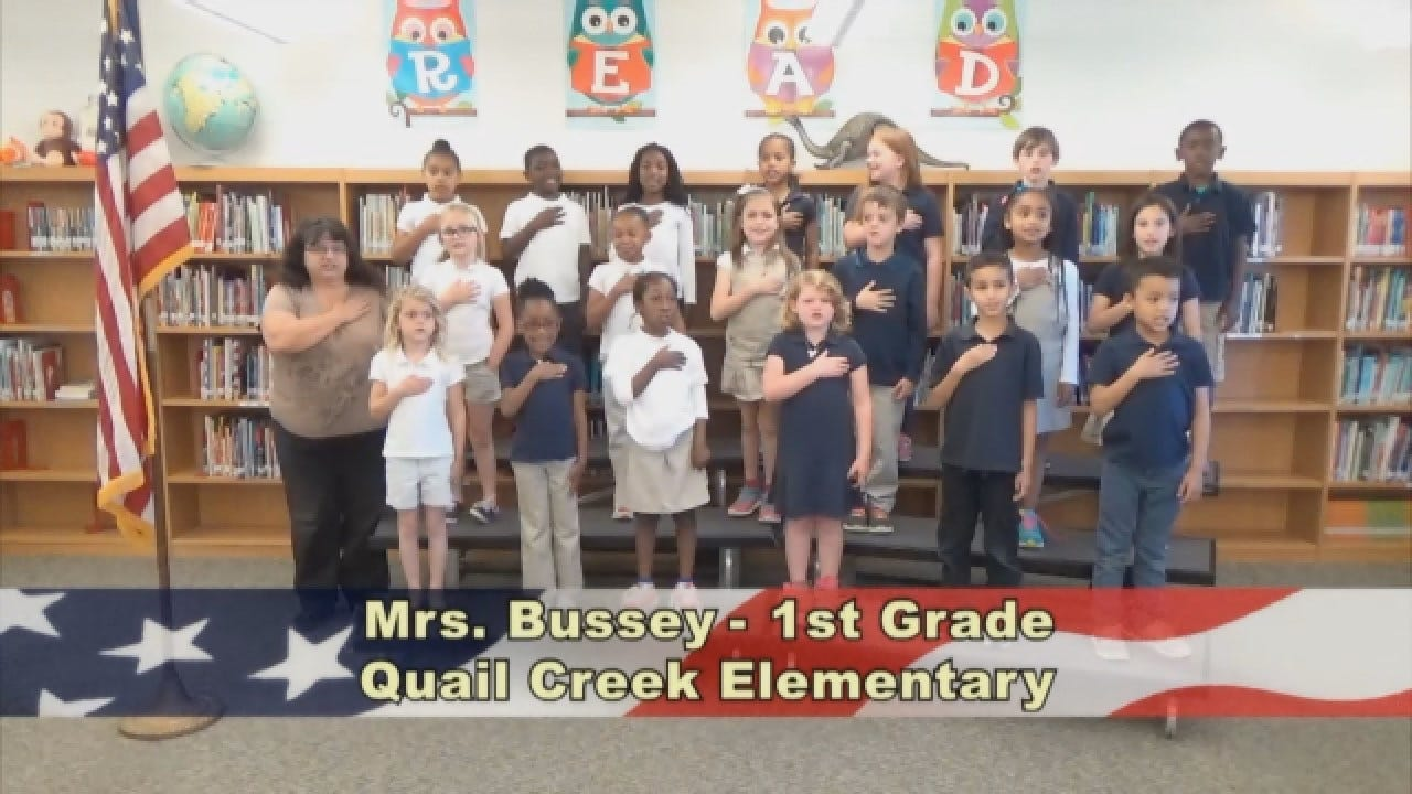 Mrs. Bussey's 1st Grade Class At Quail Creek Elementary