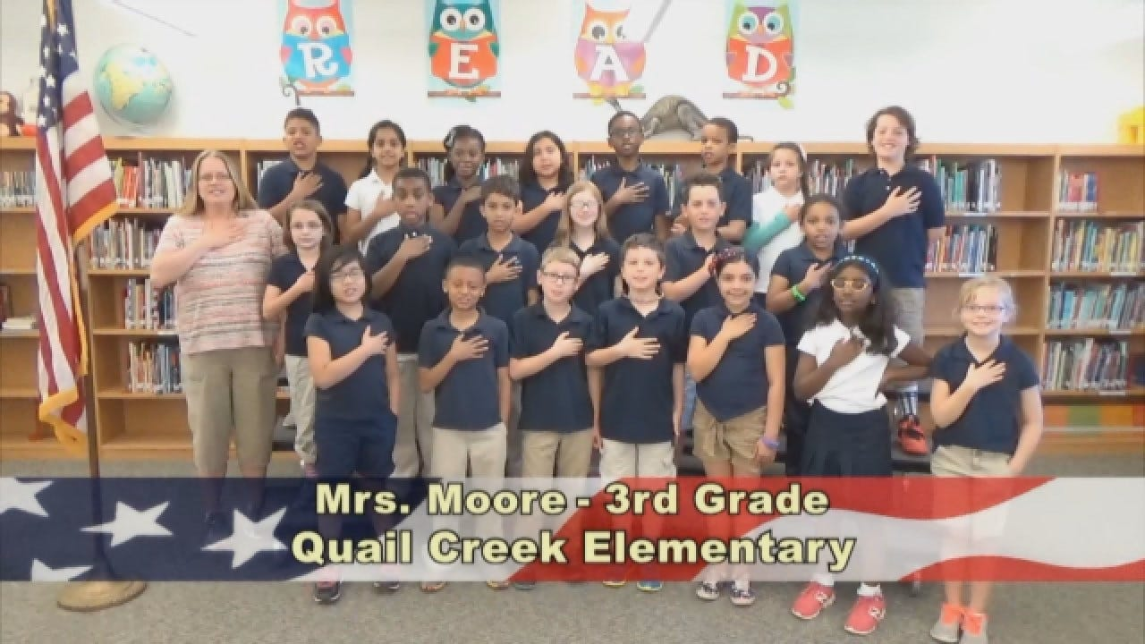 Mrs. Moore's 3rd Grade Class At Quail CreekElementary