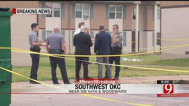One Dead After Shooting At SW OKC Apartment Complex, Suspect At Large