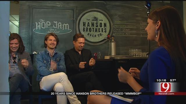 News 9's Lacey Swope Meets Childhood Idols, Hanson - 20 Years Later