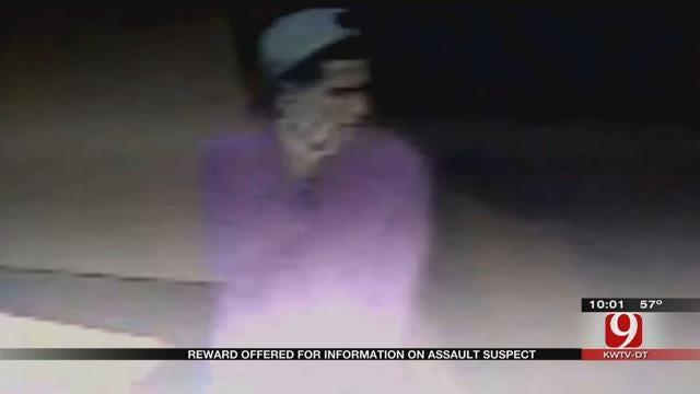 OKC Police Offering Reward For Information On Assault Suspect
