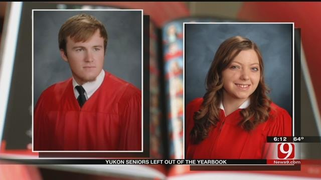 Yukon HS Seniors Mistakenly Left Out Of Yearbook