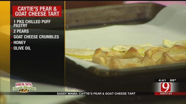 Caytie's Pear and Goat Cheese Tart