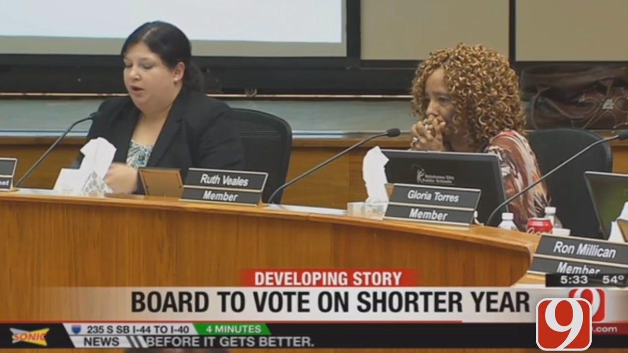 WEB EXTRA: Rachel Calderon Previews OKCPS Board Meeting