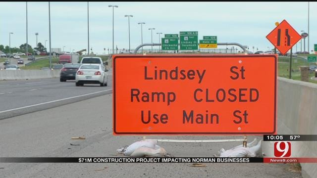 Interstate 35 Expansion Project In Norman Is Halfway Complete